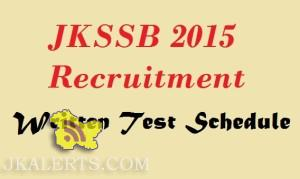 KSSB Written Test scheduled to be conducted on 15th of November 2015