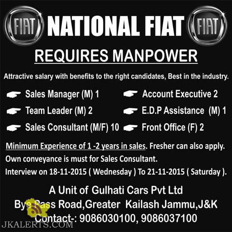 Jobs in National FLAT Sales Manager, Team Leader, Sales Consultant