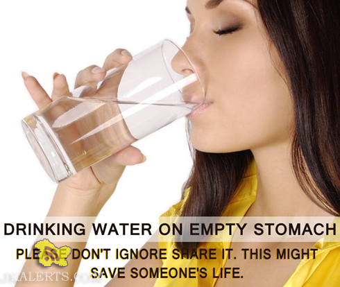 BENEFITS OF DRINKING WATER ON EMPTY STOMACH