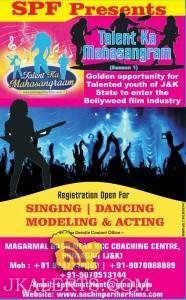 Talent Ka Maha Sangram SINGING, DANCING, MODELING & ACTING COMPETITION
