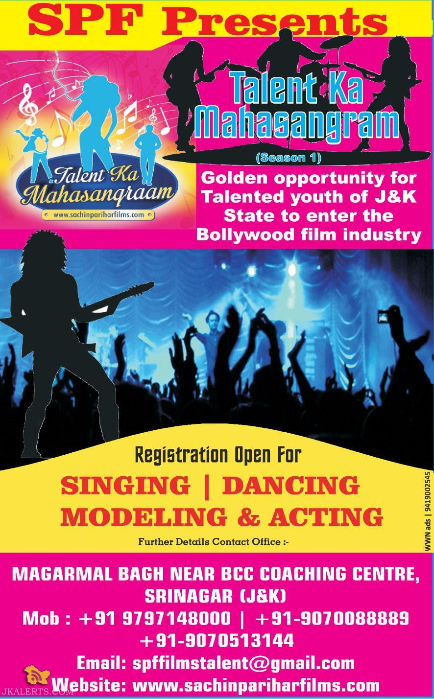 Talent Ka Maha Sangram SINGING, DANCING, MODELING & ACTING COMPETITION