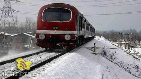 Kashmir valley new train timings