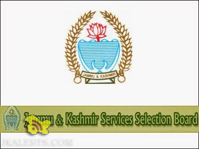 LIst of posts for which JKSSB conduct written test on 20th and 25th of December 2015
