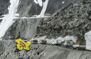 Traffic Update on National Highway Jammu srinagar, Srinagar-Kargil, Bandipore-Gurez, Synthan-Kishtwar