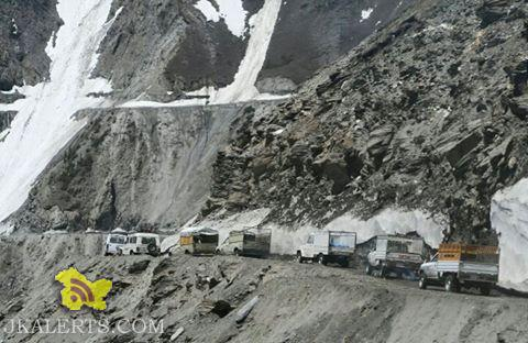 Traffic Update on National Highway Jammu srinagar, Srinagar-Kargil, Bandipore-Gurez, Synthan-Kishtwar