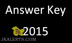 JKSSB Answer Key (in four series) forWritten Test held on 25th of December