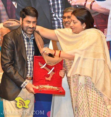 Government of India honoured Padamshree Balwant Thakur Director of Natrang