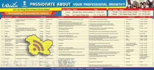 Udaan Recruitment Drive in Hiranagar, Billawar, Reasi, Jammu