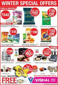 Vishal Mega Mart winter special offer