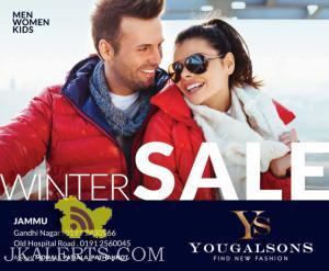 Winter Sale on Men, Women, kids wears