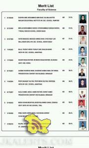 Jkbose Class 12th Annual Kashmir 2015 Science Merit List