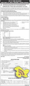 Class-IVth (Attendants) Jobs in Animal Husbandry Deptt Recruitment 2016