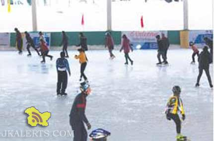 National level 12th Ice- skating championship inaugurated in Gulmarg