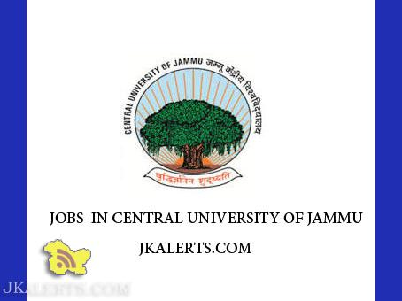 Central University of Jammu CUJAMMU Recruitment 2019