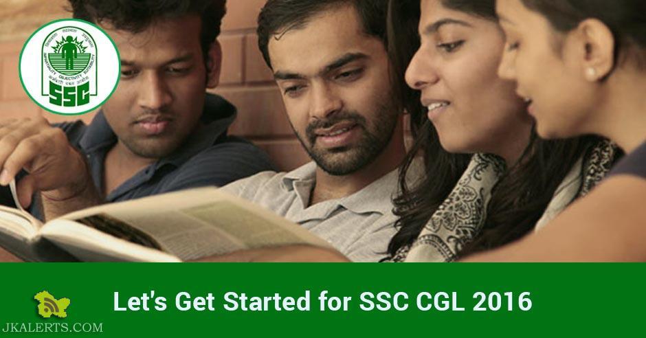 SSC Combined Graduate Level (CGL) Exam 2016