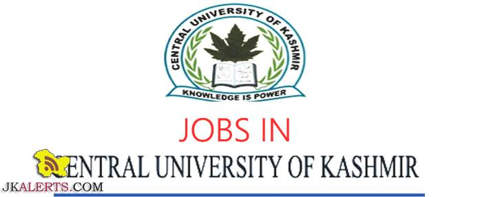 Central University of Kashmir, Central university of Kashmir Jobs, Jobs in Central university Kashmir, CUK Jobs ,CUK Recruitment 2019, CUK walk in interview, Assistant Professor jobs, Teaching Assistant Jobs, CUK Teaching Jobs, Kashmir Jobs , Kashmir Recruitment,