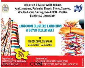 Exhibition & Sale of Kani Jamawars, Pashmina Shawls, Stoles, Scarves, Woollen Ladies Suiting, Tweed Cloth,