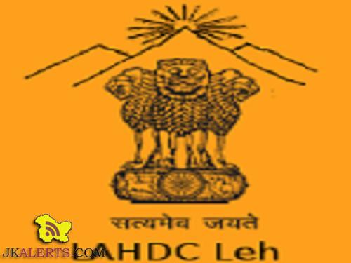 Jobs in LAHDC
