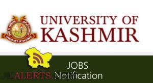 Jobs in Department of Social work University of Kashmir