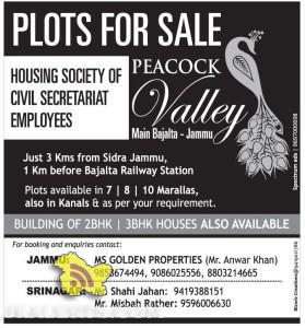PLOTS FOR SALE HOUSING SOCIETY OF CIVIL SECRETARIAT EMPLOYEES