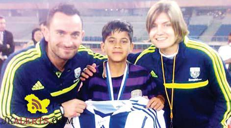 Jammu boy Rishi selected in U-14 National Football Camp