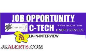 JOBS IN C-TECH INTERNATIONAL BPO