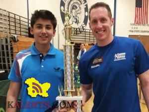 Aryan Mahajan from Jammu Wins Table Tennis Tourney in US