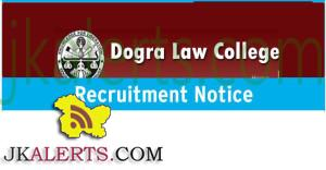 Jobs in Dogra Law College Bari Brahmana Jammu