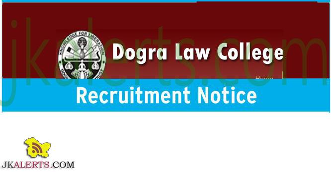 Jobs in Dogra Law College Bari Brahmana Jammu
