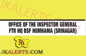 Specialist Doctors, General Duty Medical Officers jobs in BSF Composite Hospital Srinagar