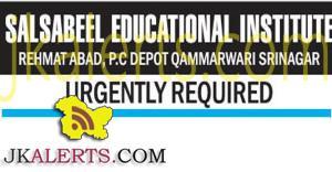 jobs in srinagar