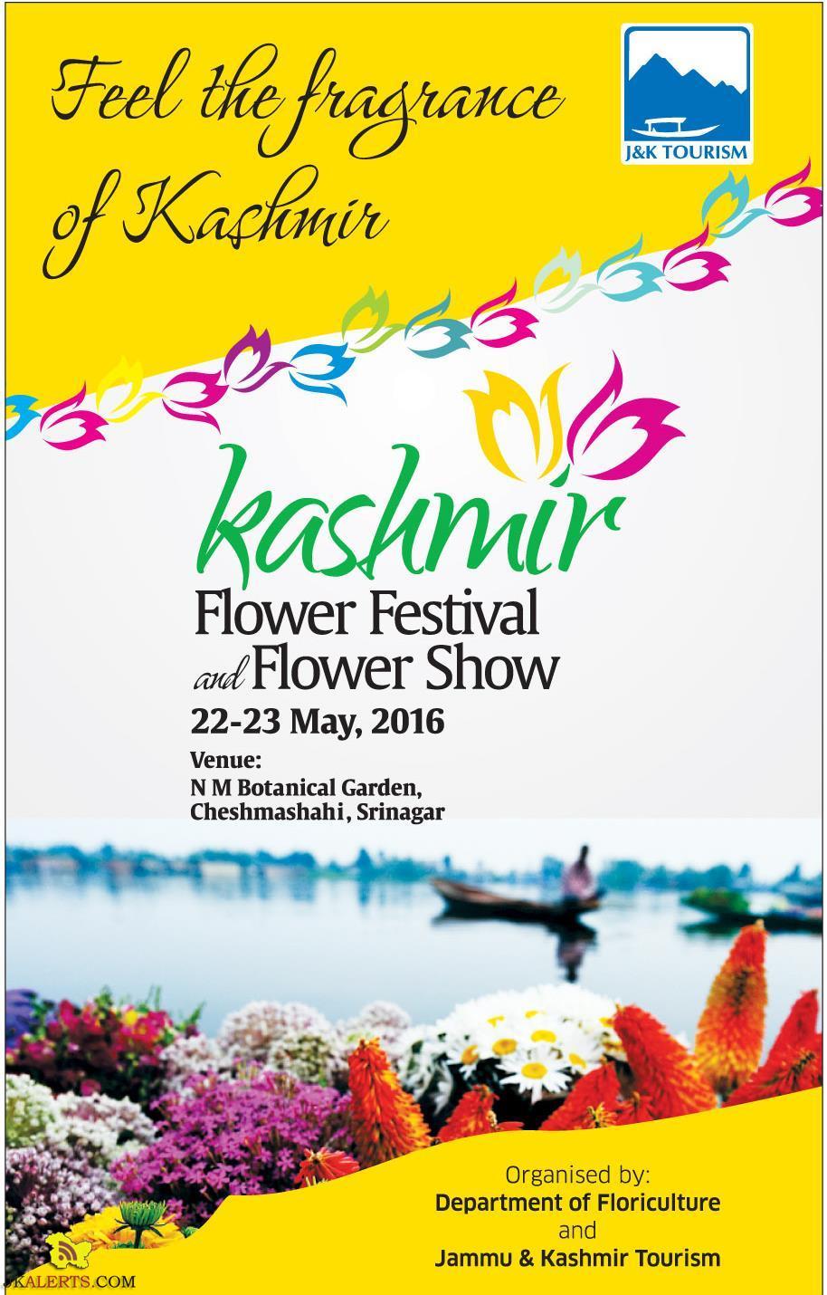 Kashmir Flower Festival and Flower show