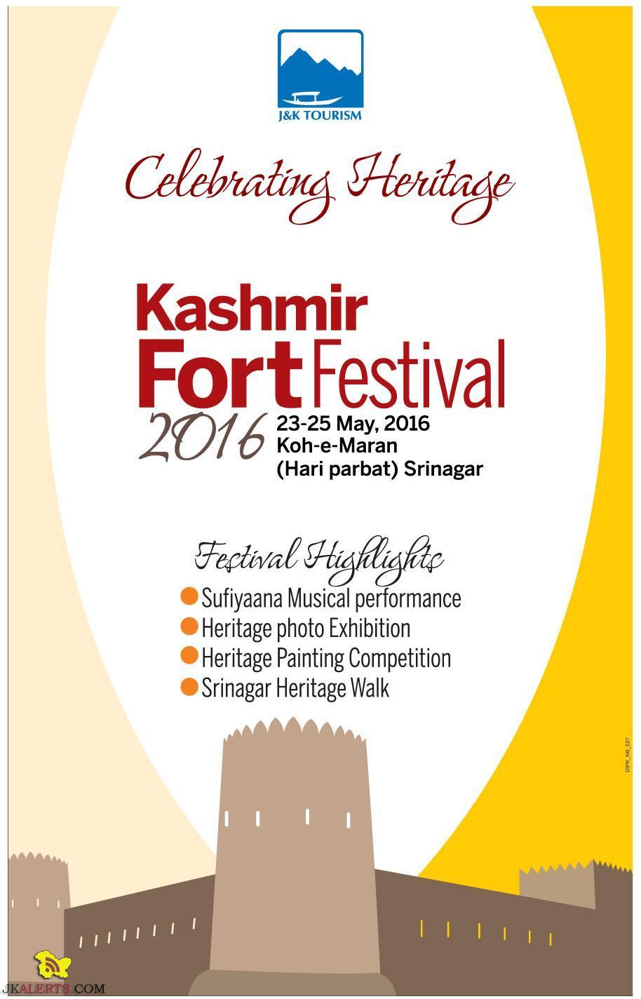 Kashmir Fort Festival 2016