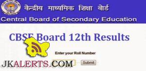 CBSE CLASS 12th (Class XII) Results 2016