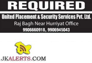 Jobs in United Placement a Security Services Pvt. Ltd.