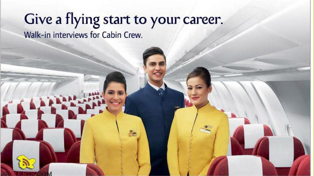 Jet Airways Walk-in interview for Cabin Crew in Srinagar
