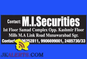 Tele Callers and Computer Operators Jobs in M.I Securities