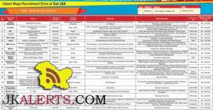 Udaan Mega Recruitment Drive at GDC Tral J&K