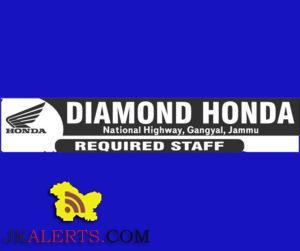 WALK-IN-INTERVIEW IN DIAMOND HONDA