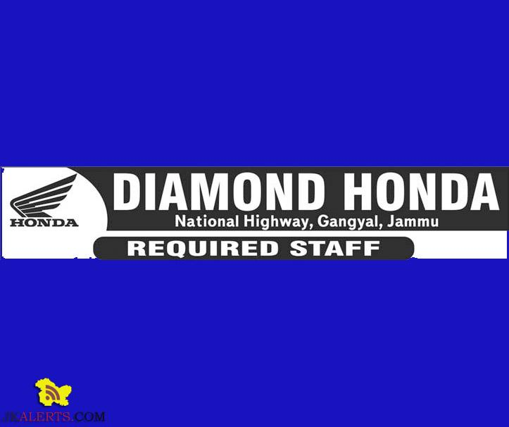 WALK-IN-INTERVIEW IN DIAMOND HONDA