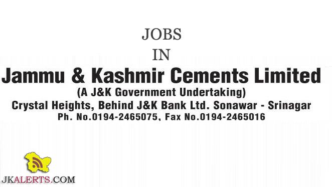 jobs in jammu and kashmir