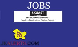 jobs-in-skuast-kashmir