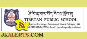 JOBS IN TIBETAN PUBLIC SCHOOL
