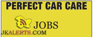 Latest jobs in Srinagar, Various jobs in Perfect Car Care Srinagar
