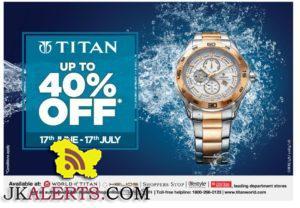 Titan Sale upto 40%