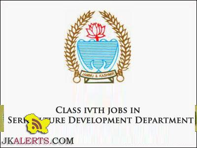 Class ivth jobs in Sericulture Development Department