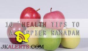 10 useful tips to stay healthy and fit During Ramadan