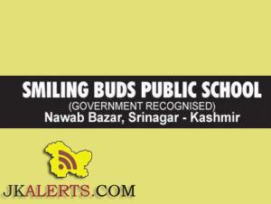 JOBS IN SMILING BUDS PUBLIC SCHOOL