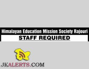 Jobs in Himalayan Education Mission Society Rajouri