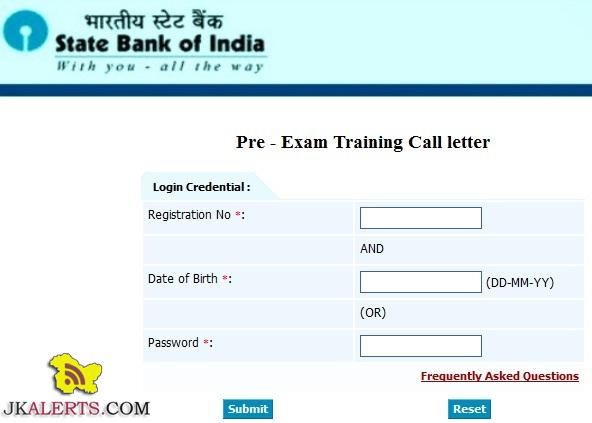 SBI Preliminary Online PO Exam Call letter Download